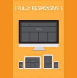 Responsive webdesigns